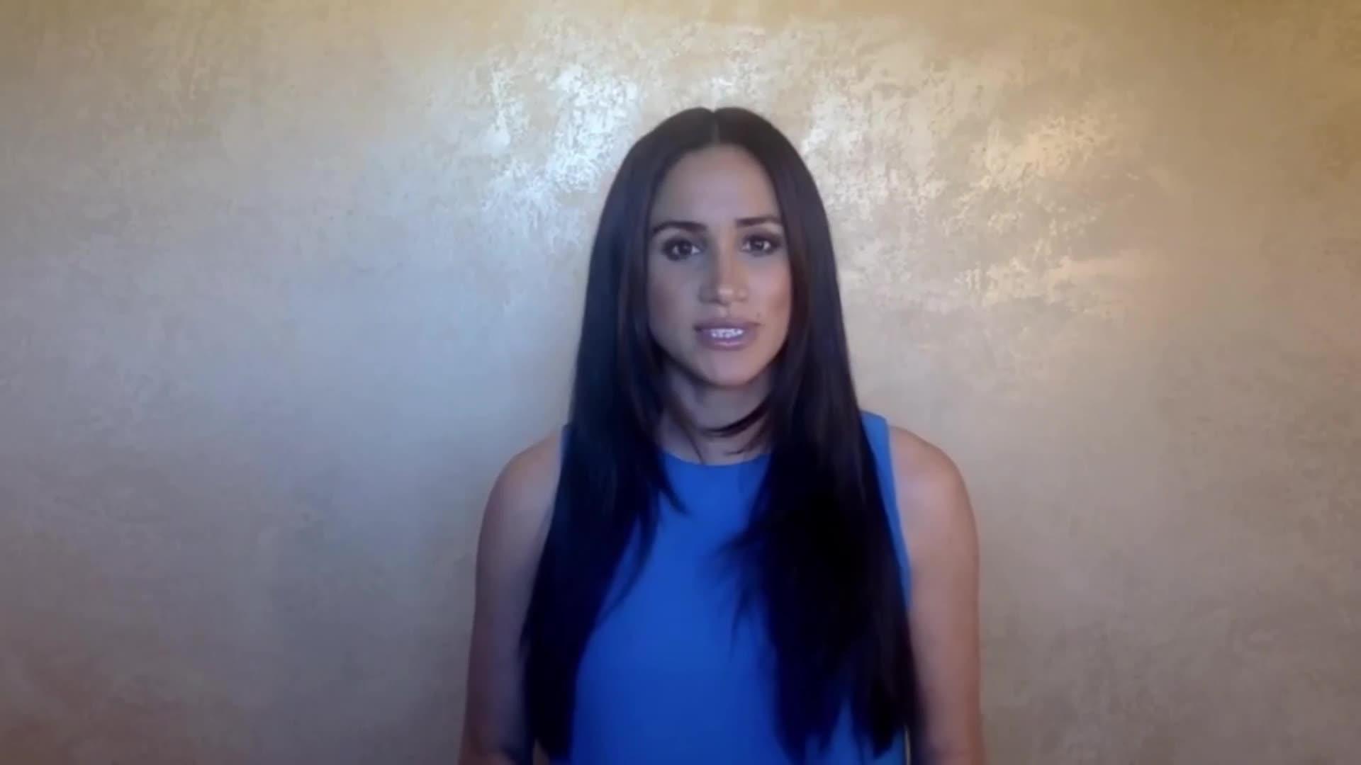 Meghan Markle dio un discurso conmovedor - TN.com.ar