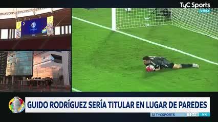 Video: El momento en que Leandro Paredes se habría lesionado ante Colombia