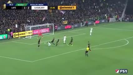 Video: el primer gol de Cristian Pavón en Los Angeles Galaxy