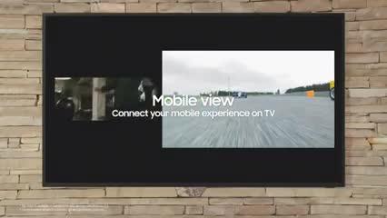 Video: The Terrace, el televisor de Samsung para disfrutar al aire libre