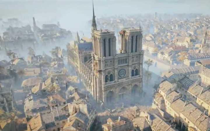 Assassin's Creed: Unity, el juego que permite recorrer la catedral de Notre Dame como era antes del incendio