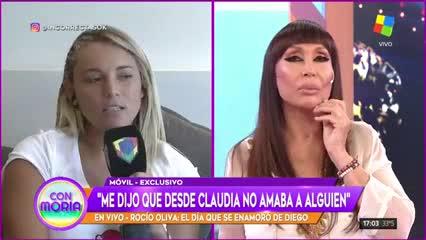 Rocíó Oliva contó como fue la primera vez que Diego Maradona le dijo