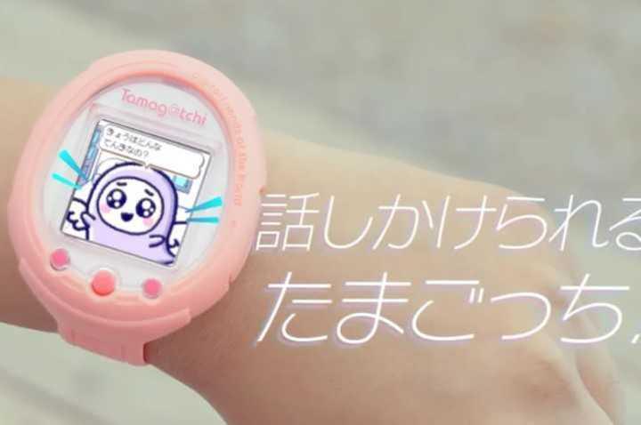 Volvió el Tamagotchi en forma de smartwatch
