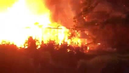 Bariloche: incendio de una cabaña en la Hostería El Retorno, vinculada a los Kirchner y Cristóbal López