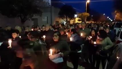 Video: El pueblo de Villalonga pide justicia por el femicidio de Patricia Illgner