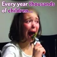 Los chicos y los vegetales