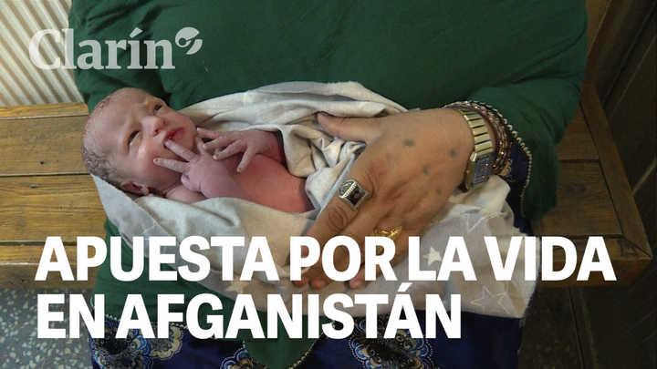 Una de las maternidades más activas del mundo está en Afganistán