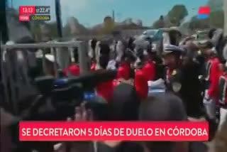 Último adiós a José Manuel De la Sota