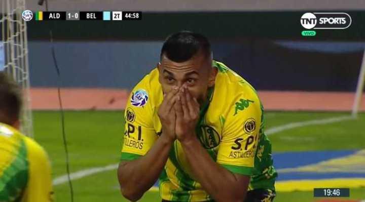 Chávez marcó por duplicado y 2 a 0 para Aldosivi