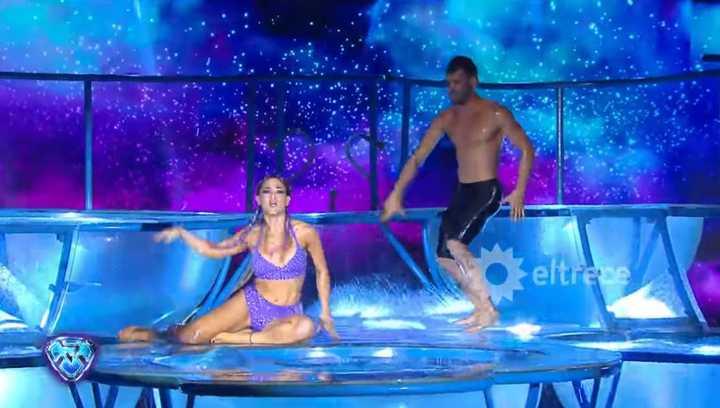 Bailando 2018: el caliente aquadance de Jimena Barón