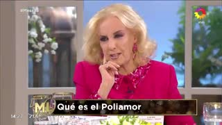 """La mesa de Mirtha Legrand estalló de risa al hablar sobre el """"poliamor"""""""