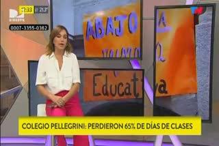 El conflicto por la cantidad de clases perdidas en el Pellegrini