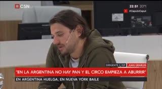Juan Grabois sobre Cristina Kirchner (C5N)