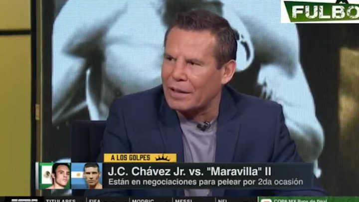 Julio César Chávez confirmó la pelea entre su hijo y Sergio Maravilla Martínez