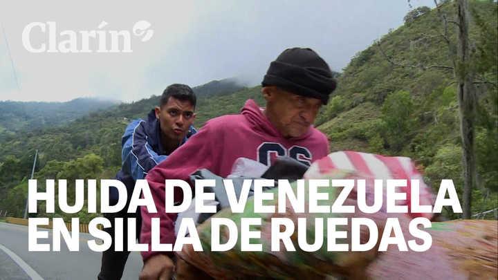 Huida desesperada: la odisea del venezolano en silla de ruedas que fue a buscar atención médica a Colombia