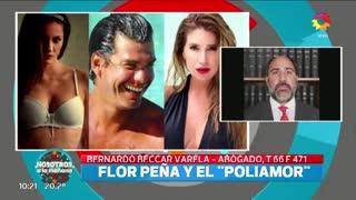 El abogado de Florencia Peña, Bernardo Beccar Varela, analiza un juicio contra Eliana Mendoza.