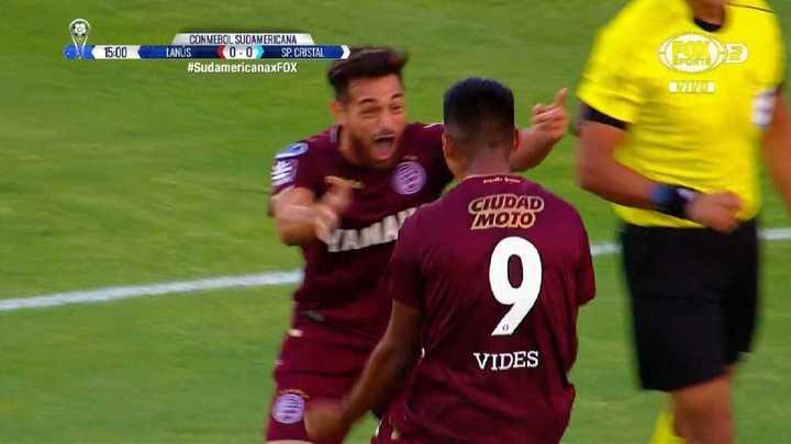 Lanús 1 - Sporting Cristal 0