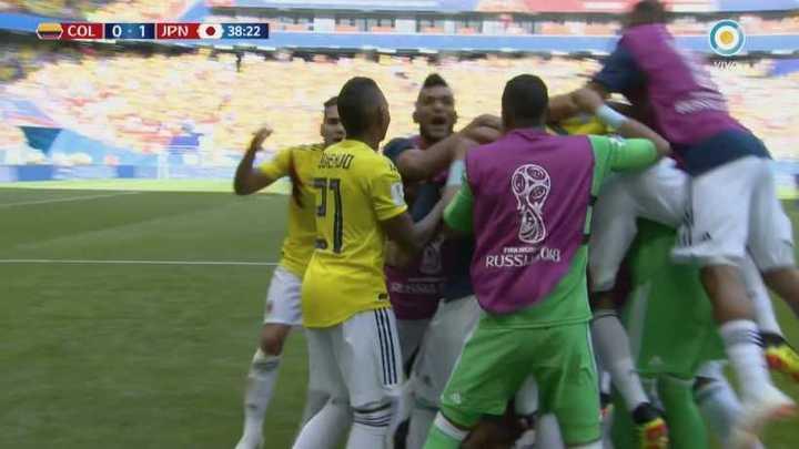 Colombia 1 - Japón 1