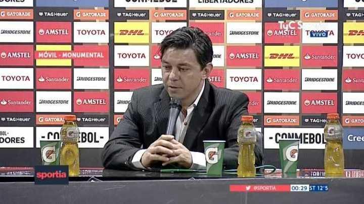 """""""Es una posibilidad que haya un cruce con Boca en Libertadores"""""""