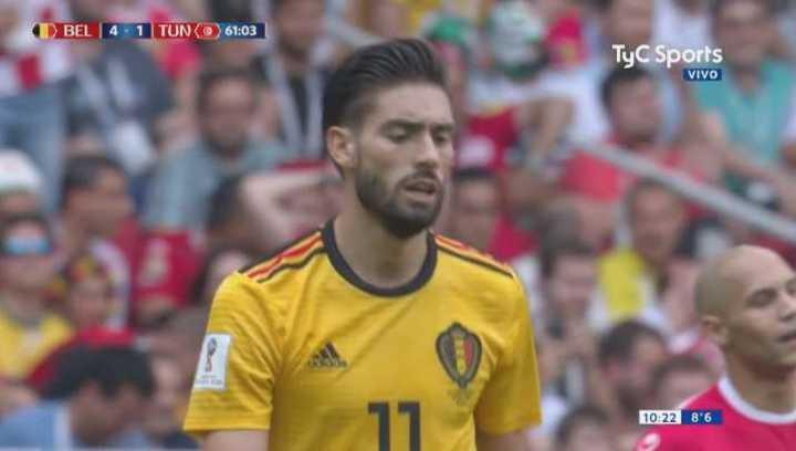Bélgica 4 - Túnez 1. Carrasco casi mete el quinto de Bélgica - Mundial Rusia 2018
