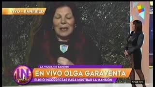 Olga Garaventa contó cómo fue su primer encuentro con Sandro.