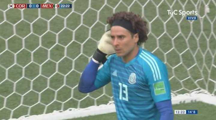 Corea del Sur 0 - México 0. Ochoa evitó el primero de Corea - Mundial Rusia 2018
