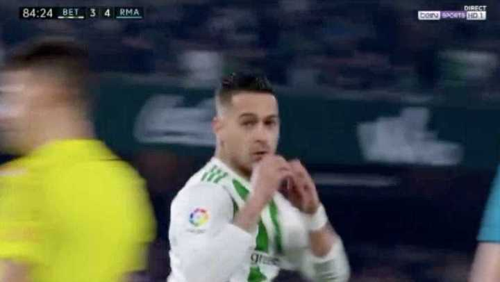 Betis 3 - Real Madrid 4