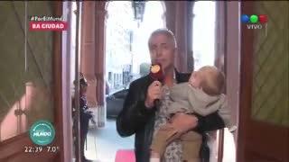 """Marley y Mirko visitaron la Casa Rosada y se encontraron con Macri. En """"Por el mundo"""" (Telefe)"""