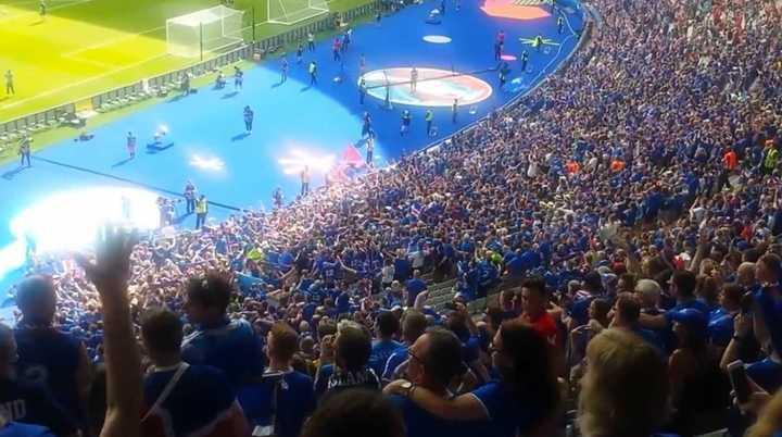 La canción con que Islandia precalentó en el Mundial de Rusia