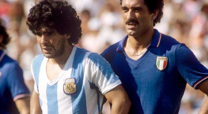 Argentina contra Italia en el Mundial '82