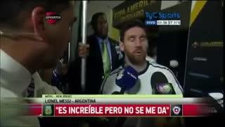 Messi renuncia a la Selección