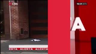 Asalto y tiroteo en Caballito