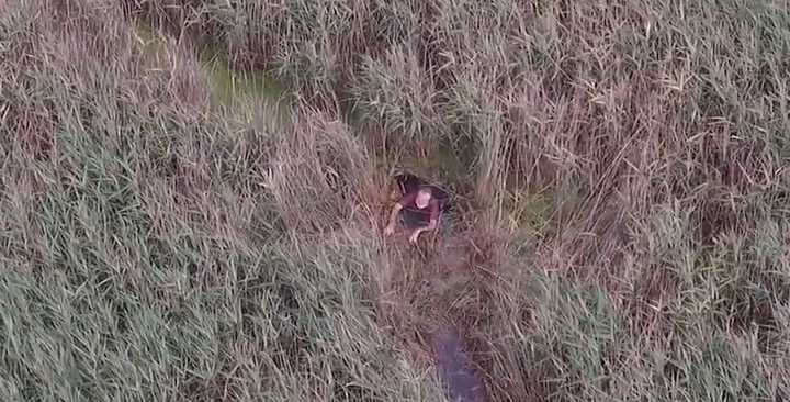Un dron ayudó a la policía inglesa a rescatar a un desaparecido