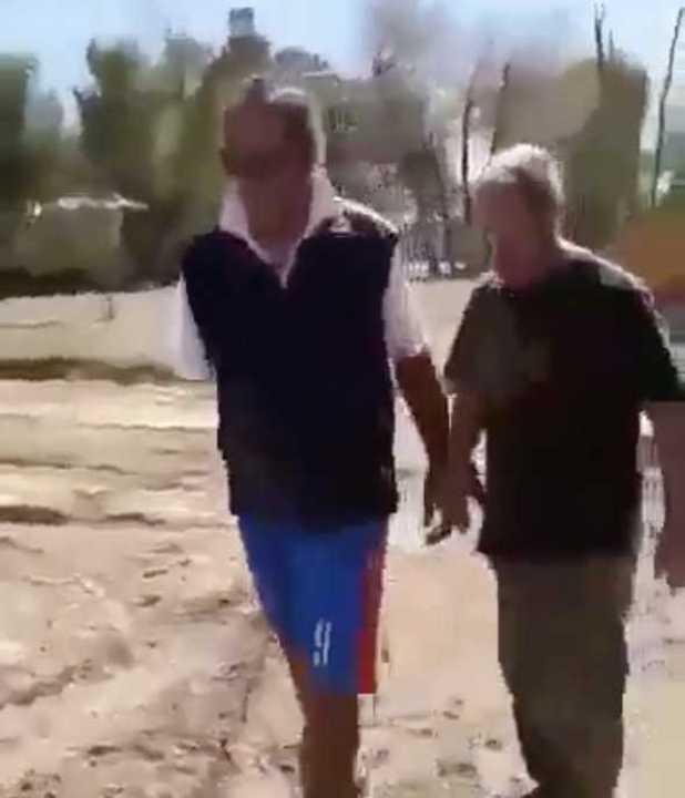 Daniel Scioli fue increpado por vecinos de Tigre