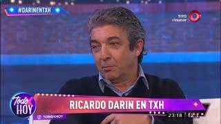 Ricardo Darín habló con el Pelado López de su nuera Úrsula Curberó.