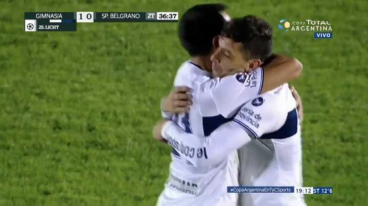 Gimnasia LP 1 - Sportivo Belgrano 0