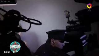 Wanda Nara, enojada con la prensa, no quiso hablar