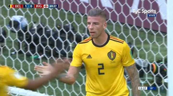 Alderweireld salvó a Bélgica - Mundial Rusia 2018