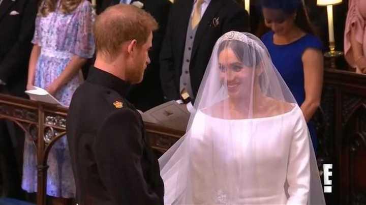 Boda real: Harry y Meghan se encuentran frente al altar
