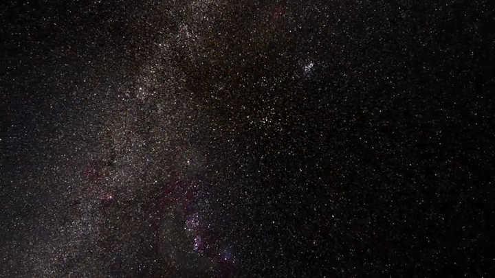 Vista animada en 3D del cielo según lo observado por el satélite Gaia