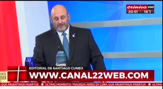 Editorial de Cúneo se lanza a la política