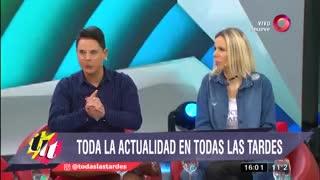 """Lío Pecoraro habló de la salud de Lía Salgado en """"Todas las tardes"""" (El Nueve)."""