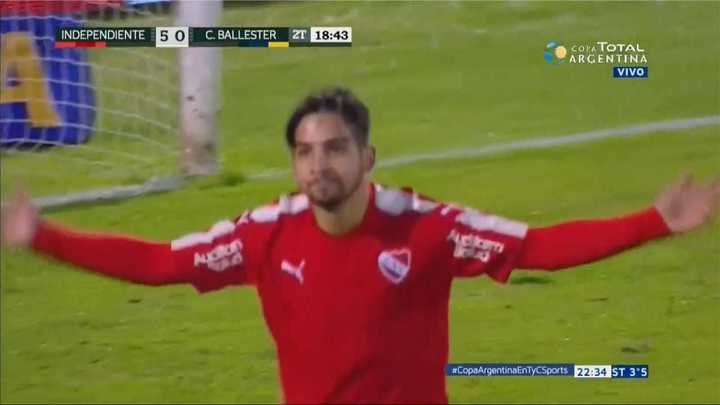 Independiente 6 - Central Ballester 0