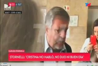 """""""No habló, no dijo buen día"""", señaló el fiscal Stornelli"""
