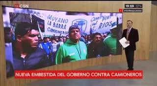"""Pablo Moyano: """"No nos vamos a comer este apriete, que el Gobierno se banque la reacción"""""""