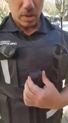 """Así son los chalecos antibala """"inteligentes"""" que empieza a usar la policía"""
