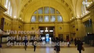 Los secretos que devela la obra de restauración de la estación Constitución.