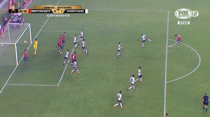 El gol anulado a Independiente