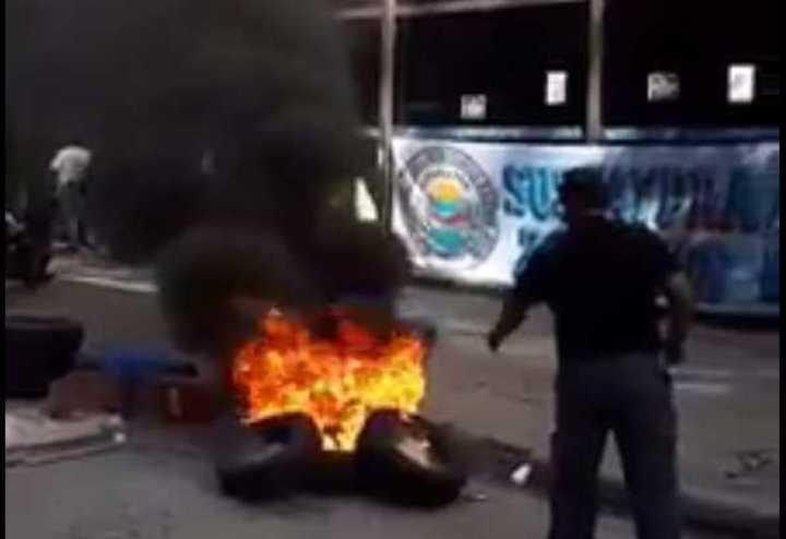 Video de Falgheri antes de protagonizar el tiroteo. -