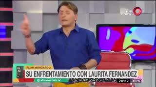 """Florencia Marcasoli: """"Laurita Fernández es una trepadora"""""""